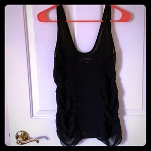 Urban Outfitters Silence & Noise black sheer top